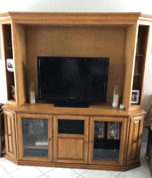 Entertainment Center for Sale in Castaic, CA