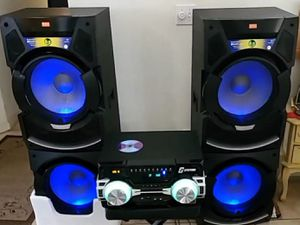 Bluetooth speakers, party system, karaoke or not. for Sale in Fresno, CA