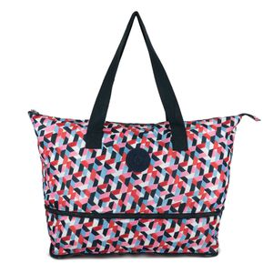 New Kipling Imagine Foldable Tote, Packable Travel Bag, forever tiles pack for Sale in Schaumburg, IL