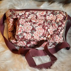 Floral wine cellphone crossbody bag purse for Sale in Fresno,  CA