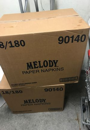 MELODY paper napkins for Sale in Fresno, CA