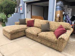 Comfortable custom down couch for Sale in San Diego, CA