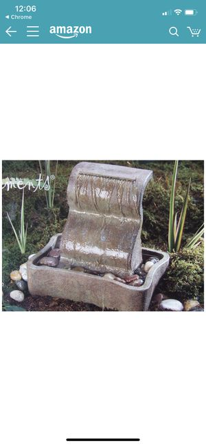Tranquil Falls Collection by Elements Table Fountain for Sale in Glendale, CA