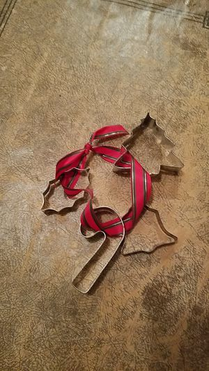 Christmas cookie cutter collection for Sale in Snohomish, WA