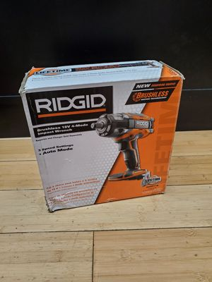 """Ridgid 18V R86011B 1/2"""" Impact Wrench (Tool-Only) for Sale in Framingham, MA"""