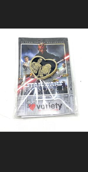 Star Wars Collectable Phantom Menace Pin for Sale in Los Angeles, CA