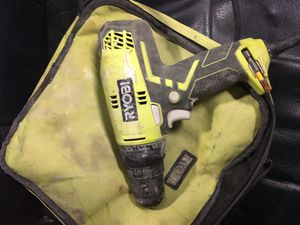 Ryobi three eights inch drill for Sale in Roaming Shores, OH