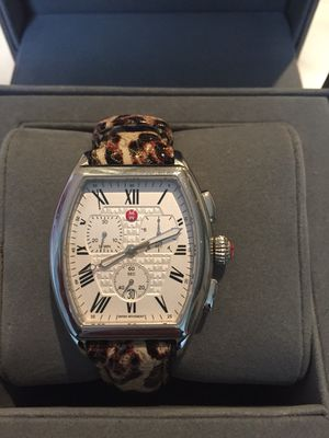 Michele Releve Chronograph Watch MW19A00A0001 Stainless Ladies for Sale in Washington, MD