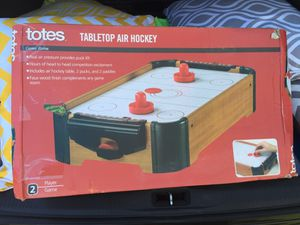 Tabletop air hockey table for Sale in Affton, MO