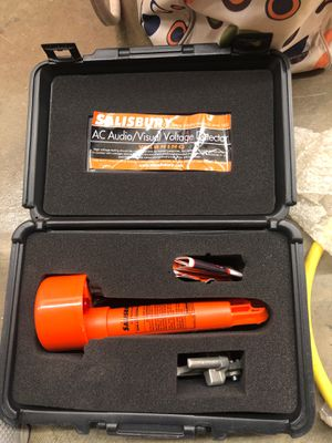 SALISBURY Model 4644 Audio Visual AC VOLTAGE DETECTOR. Condition is Like New. This unit is used but works just fine. case and papers. normal use for Sale in Alexandria, VA