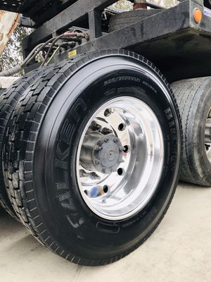 FALKEN DRIVES! Commercial truck and Trailer tires! Llantas para camión y traila for Sale in Riverside, CA