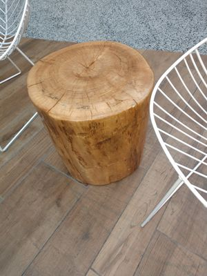 Log coffee or end table for Sale in Salt Lake City, UT