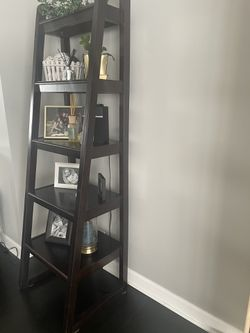 Real Wood Ladder Shelf From Macy's for Sale in Arlington Heights,  IL