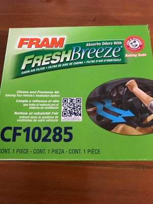 Fram Cabin Air Filter for Sale in Riverside, CA