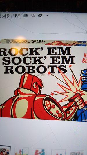 VINTAGE ROCK' EM SOCK' EM ROBITS TOY for Sale in North Highlands, CA
