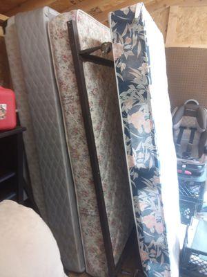 2 Mattress and 2 box spring for Sale in Blackstone, VA