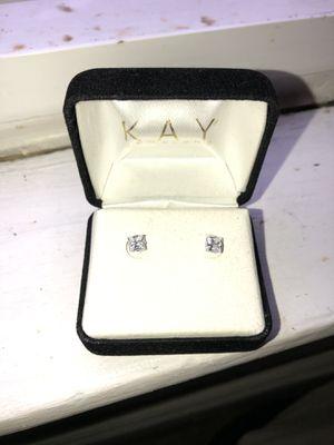 Diamond earrings from Kay jewelers hmu for Sale in Lebanon, PA