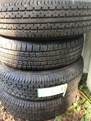 235/80R16 10 ply trailer tires for Sale in Riverview, FL