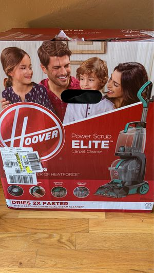 hoover power scrub elite pet carpet cleaner (open boxed item) for Sale in Phoenix, AZ