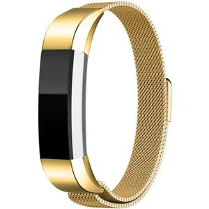 Magnetic Loop Stainless Steel Wrist Band Strap for Fitbit Alta HR /Alta Gold(steelband-gold-USA) for Sale in Riverside, CA