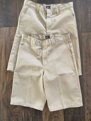 Dickies Boys or Girls Khaki Shorts Size 16 for Sale in Litchfield Park, AZ
