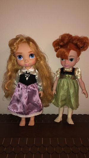 Disney Aurora & Anna Dolls for Sale in Santa Ana, CA