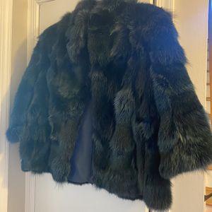 Navy Fur Jacket NWT for Sale in Alexandria, VA