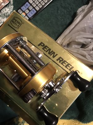 Gold series 940 level wind bait caster for Sale in Stockton, CA