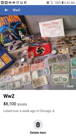 Ww2 antiques give me a good price this is going on one century already $$$ for Sale in Chicago, IL