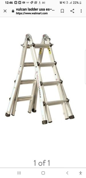 17 ft telescoping aluminum ladder for Sale in Huntington Beach, CA