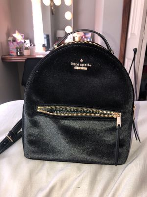 Kate Spade mini velvet backpack for Sale in Wichita, KS