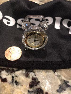 MINI GLASS CLOCK for Sale in Rocklin, CA