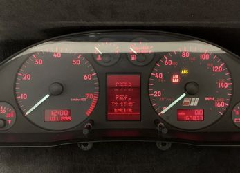 2000 Audi B5 S4 6spd Cluster 168k for Sale in Tacoma,  WA