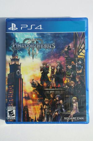 Kingdom Hearts 3 (Sony PlayStation 4) Game BRAND new Unopened Sealed for Sale in Modesto, CA