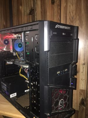 Gaming - PC - AMD - GTX - NVIDIA - HDD - Fortnite W/ monitor for Sale in Fort Wayne, IN