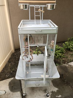 Bird cage and accessories for Sale in Fullerton, CA