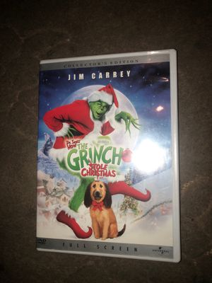 "How The Grinch Stole Chrismas DVD ""Collectors Edition"" for Sale in Inglewood, CA"