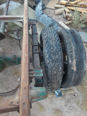 4- 1935 DUALLY RIMS ! TIRES ARE FREE AND SHIT TOO ! for Sale in Las Vegas, NV