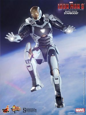 Hot Toys Iron Man Mark XXXIX Starboost 12 Inch 1/6 Scale Action Figure MMS214 for Sale in Broadlands, VA