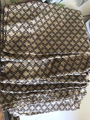 Set of 4 Martha Stuart Living 100% cotton curtains for Sale in Denver, CO