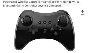 PowerLead Wireless Controller Gamepad for Nintendo Wii U Bluetooth Game Controller Joystick Gamepad for Sale in San Gabriel, CA
