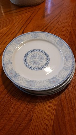 Set of 4 plates. Made in China for Sale in Anaheim, CA