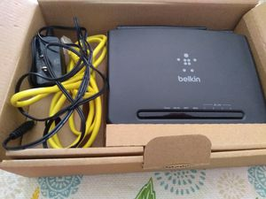 Belkin router and WiFi for Sale in Lillington, NC
