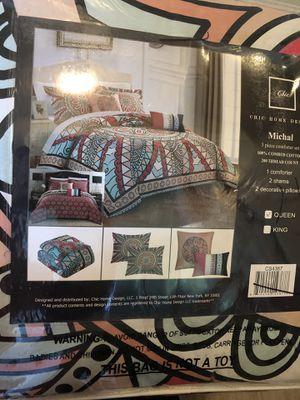 5 piece queen bedding set for Sale in Simpsonville, SC