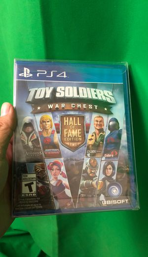 Toy Soldiers War Chest: Hall of Fame Edition (PS4, Brand New) for Sale in Vail, AZ