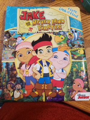 Jake and the Never Land Pirates Book for Sale in Napa, CA