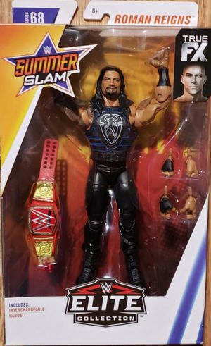 New WWE Elite Collection Roman Reigns Summer Slam Figure. for Sale in Apopka, FL