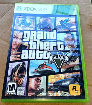 Xbox 360 Grand theft auto 5 video game.. for Sale in Orlando, FL