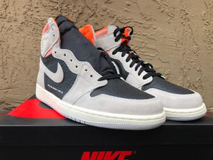 Get hype like never before with these new Jordan 1 Retro High Neutral Grey Hyper Crimson. This AJ1 size 12 for Sale in Miami, FL