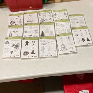 Stampinup Christmas Stamp Sets for Sale in Renton, WA